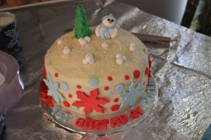 Winter One-derland Cake