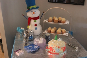 Winter One-derland Cupcakes